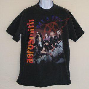 AEROSMITH Concert Tshirt, L/XL, Get A Grip 1994
